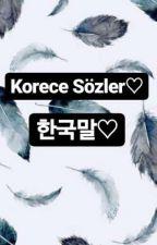 Korece Sözler♡ by ezgivgn