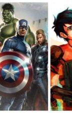 Percy Jackson and The Avengers by WinterMyth