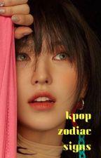 Kpop Zodiac Signs~ by Multistan889