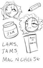 Lams,Jams,Mac n Cheese by LaurenMasco