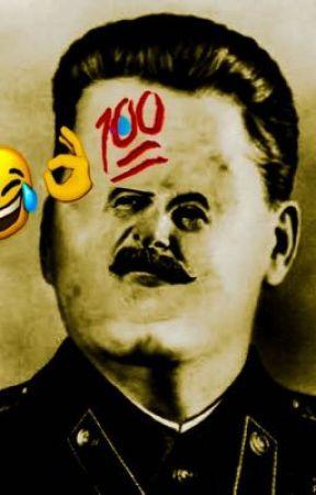 Stalin and Baldi's love romance thing by bamdnut