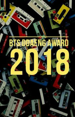 BTS DDAENG AWARDS || 2018 [Closed] by BangtanDDaengAwards