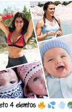 2 embarazadas  ... en ¿ reto 4 elementos ? by ladyFlamer