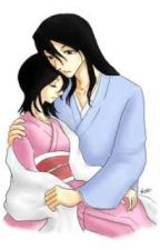 Byakuya and Hisana love story by WolfPanda95
