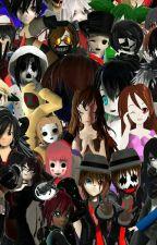 Creepypasta zodiacs by TicciTobyMyHomie