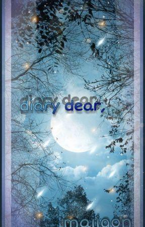 diary dear, ;; a book of emotions by maiigon