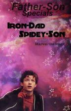 IronDad and Spideyson one shots by LarryWorldofWonder