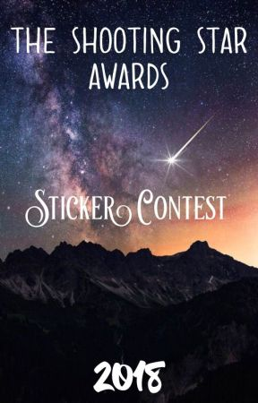 The Shooting Star Awards- Sticker Contest 2018 by TheShootingStarAward
