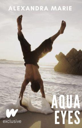 Aqua Eyes by alexandramar1e