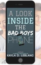 A Look Inside The BadBoy's Phone ✔️ by Lilas_Mommy