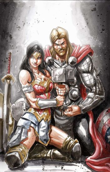 Those Who Are Worthy Of Love - A Wonder Womanthor Romance -8745