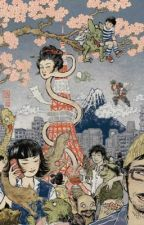 Japanese Legends ( 怪談と 夜絵 ) by kitsunebi__