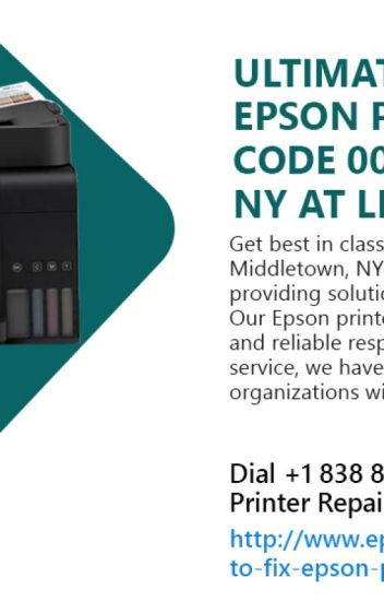 Fix Epson Printer Error Code 000031 in Middletown, NY