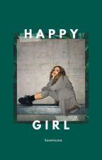 """""""Happy"""" Girl  by Kosmiczna"""