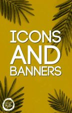 Icons & Banners. by Editorial_Bella