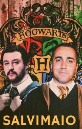 Is It Really So Strange? || Harry Potter AU Salvimaio by salvimaio