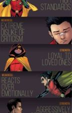 Mysterious~{Damian Wayne x reader} by Redmiserydevil