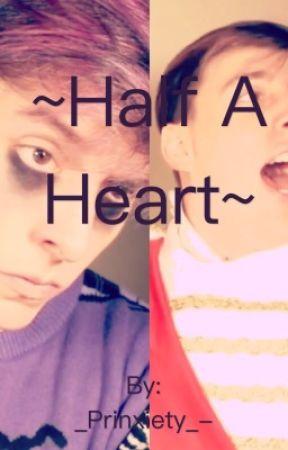 Half a heart    prinxiety by _Prinxiety_-