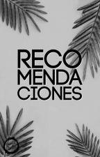 Recomendaciones. by Editorial_Bella