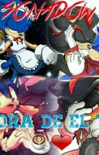 (Sonadow) Hora De El Té ☕❤ [Manourge][Mephilver] by alba_the_wolf