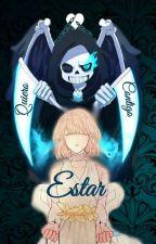 [Reapertale] *Frisk y Sans* QUIERO ESTAR CONTIGO   by KawaiiGamer320