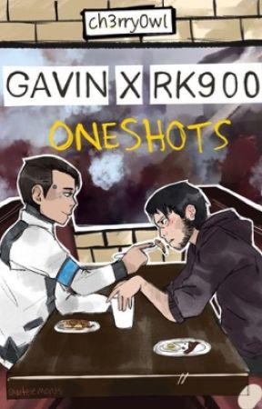 Gavin x RK900 (ONESHOTS) by ch3rry0wl
