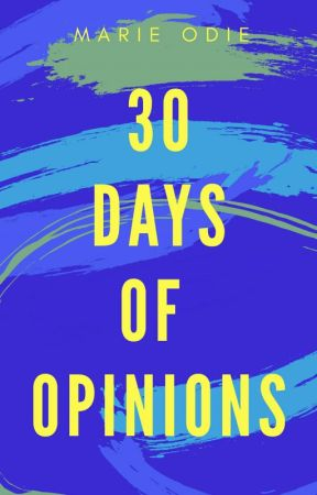 30 Days of Opinions by SugarStereo