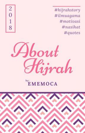 about hijrah niat karena manusia wattpad