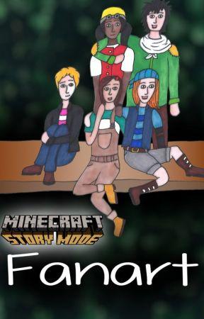Fanfictional Warrior S Minecraft Story Mode Fanart Jesse Petra