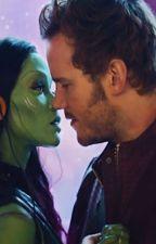 Starmora: Peter and Gamora by Castiel_1984