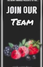 Join Our Team by theberryawards