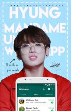 Hyung, mándame un Whatsapp [KookV] by thefxreveralxngxrl