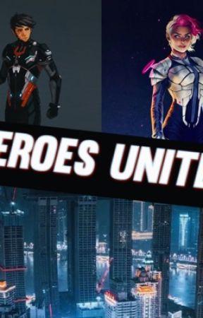 Heroes Unite  by Creatureofdanight