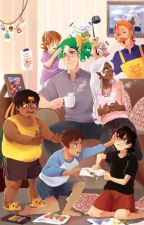 Voltron Family AU by thepitofwriting
