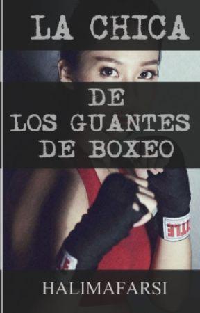 La chica de los guantes de boxeo by halimafarsi
