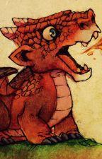 The little red dragon. by Jeffdakiller677