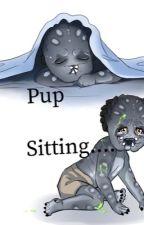 Pup sitting....(Yautja Romance Story) by TerryChiva