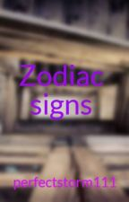 Zodiac signs by perfectstorm111