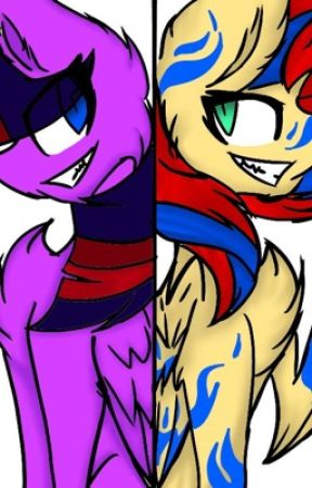 Ask + story brutalight and painset (and the other insane ponies :3) by Halo28animatronic