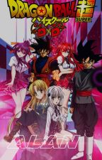 Son Goku y Black Goku los dioses dragones definitvos de High School DxD by Alan2BleA