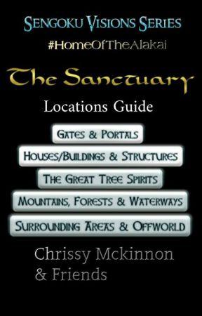 The Sanctuary - Locations List  by TamaraSwift