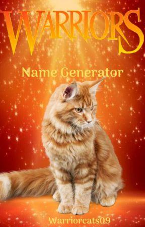 Warrior Cats Name Generator by WarriorCats09