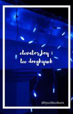 elevator boy ; lee donghyuck by hyuckbunbuns