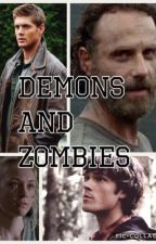 [book 1] demons and zombies (the walking dead and supernatural crossover) by punk_rocker_fandoms