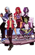 Finding Home | Teen Titans x Reader by _momichi_
