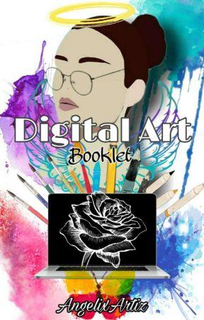 Digital Art Booklet by AngelixArtiz