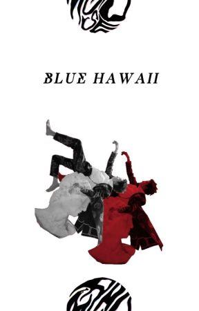 BLUE HAWAII  sugawara koushi by SHERACHAS