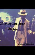Burning into hugs flames  by bonumpuella22