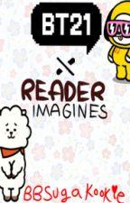 BT21 X Reader Imagines by BBSugakookie