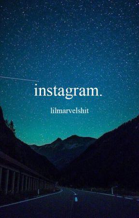 instagram. by lilmarvelshit